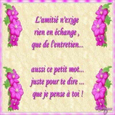 Poeme D Amitie Blog De Isabelle Philippesmet138