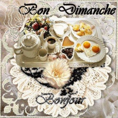 Bon Dimanche A Vous Mes Ami(E)S BISOUS