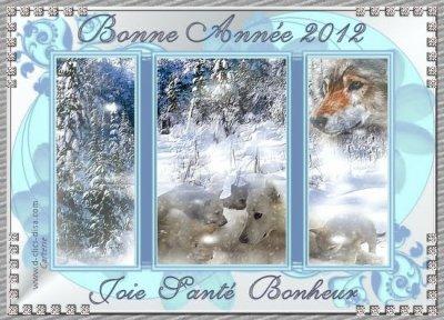 Je Vous Souhaite A Tous(Tes) Une Bonne Et Heureuse Année 2012