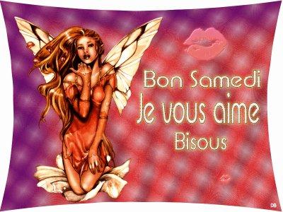 Bon Samedi A Tous(tes)Bisous
