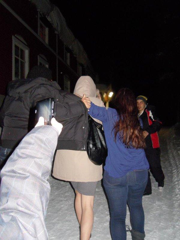 Photos de Laponie avec AFS !