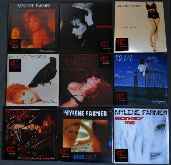 Réédition des Vinyles studio (encore)