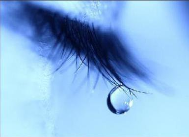 une larme?