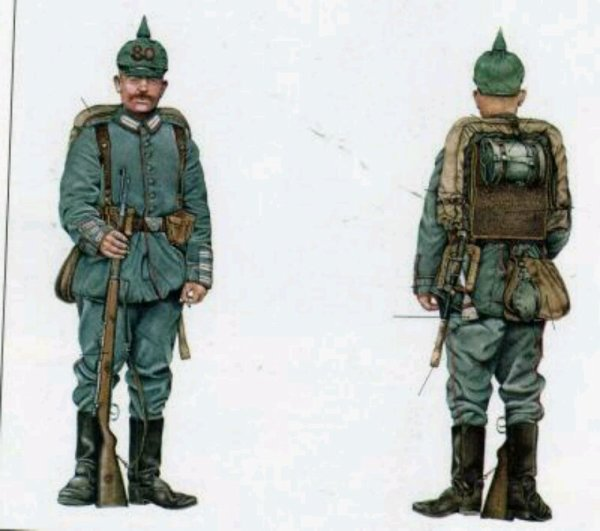 Tornister allemand ww1