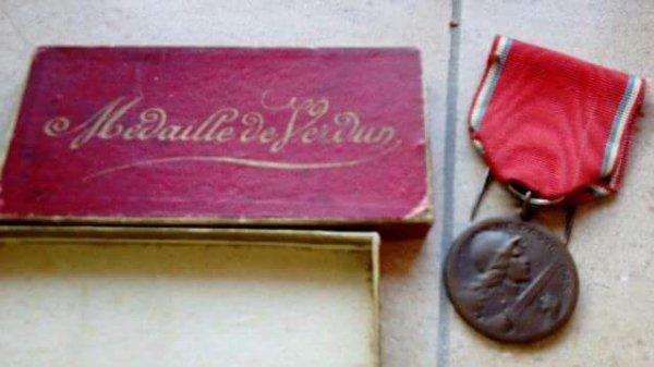 Futur rentrée médaille Verdun