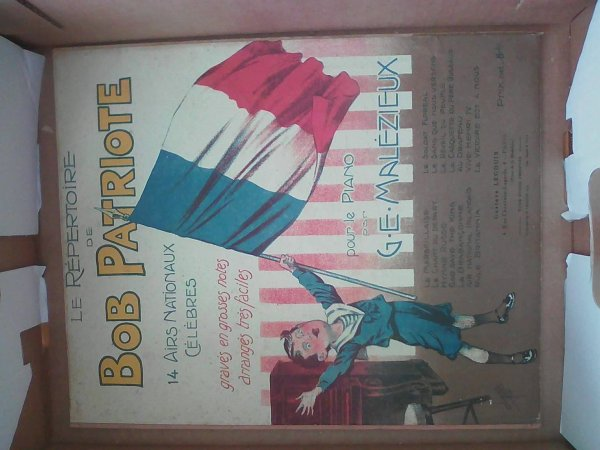 Livret de chansons patriotique datée de 1914