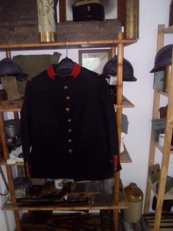 Veste d'infanterie modèle 1893
