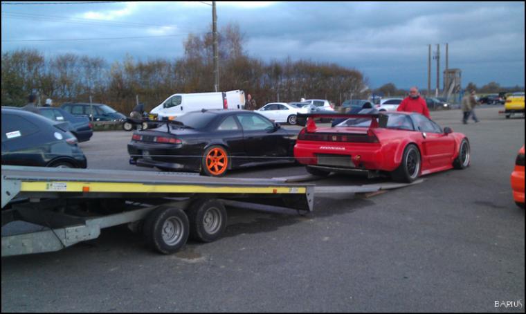 Drift en Nissan Silvia S14a
