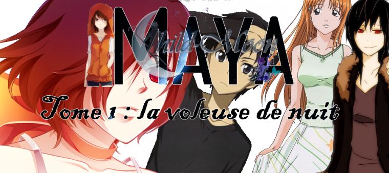 MayaTome 1: La voleuse de nuit