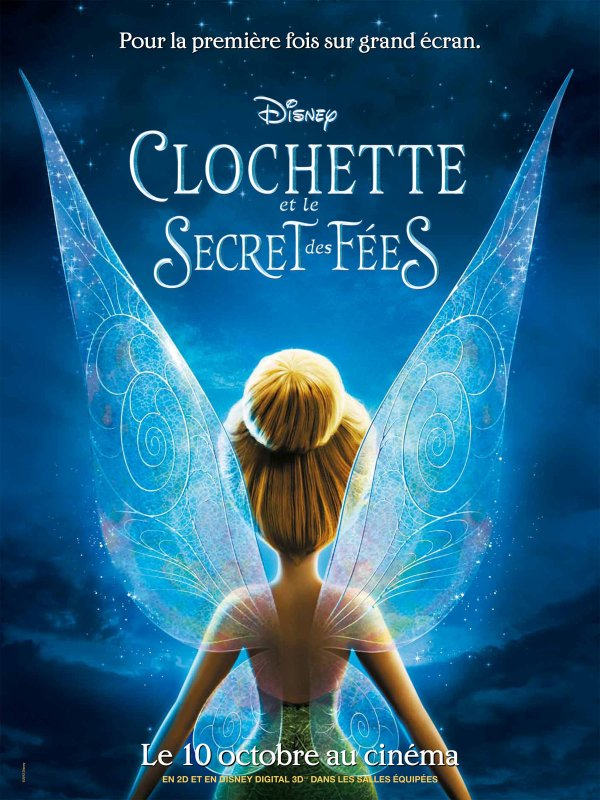 Clochette et le secret des fées en ce moment au cinéma