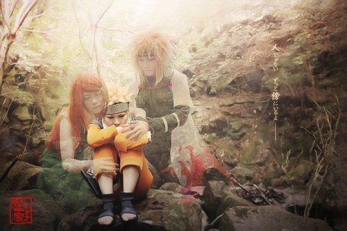 Cosplay Uzumaki Famille