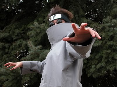 Cosplay Shino Aburame