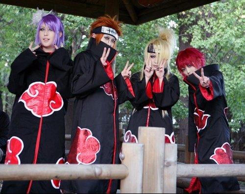 Cosplay Akatsuki