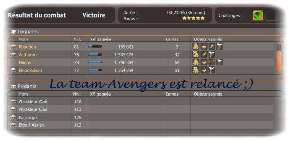 Team-Avengers; Le renouveau !