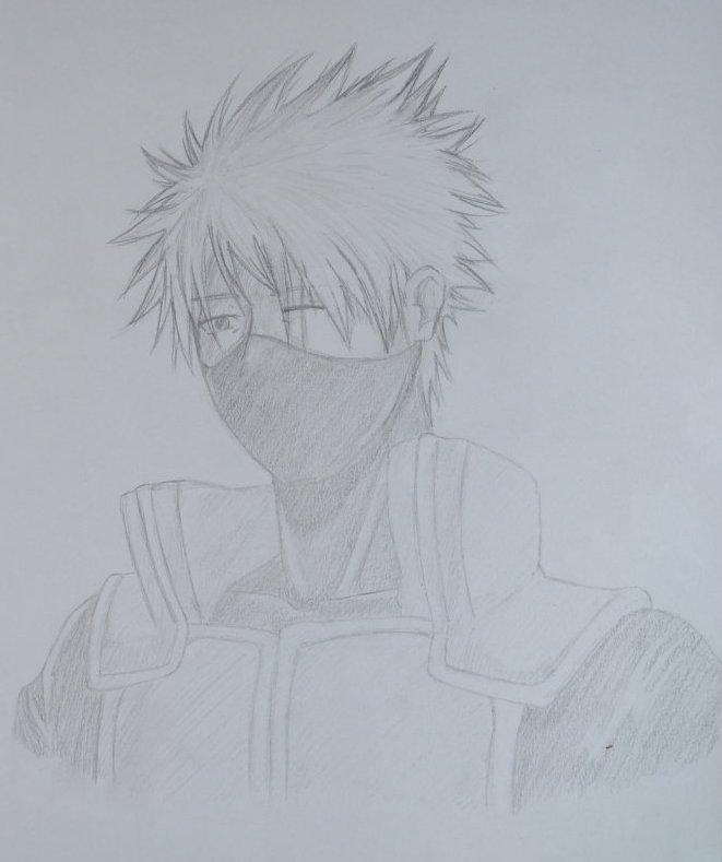 Mon dessin de Kakashi Atake