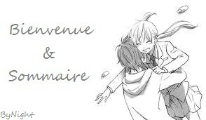 Bienvenu ! ♥ // Sommaire