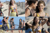 """* Anna et ses co-stars sur le set de la série """"90210"""". - 08.08.12*"""