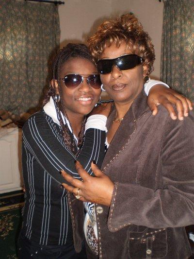 ma maman et moi !!!!!