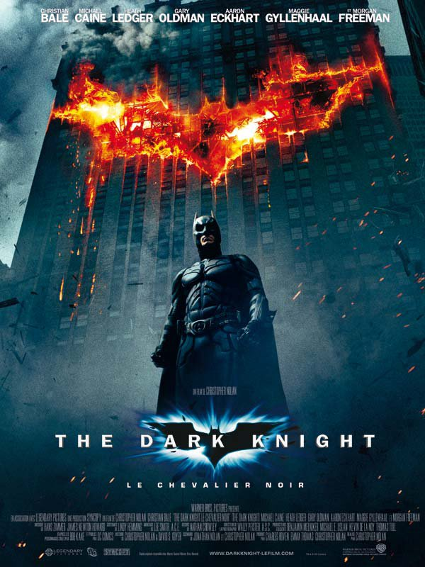 "Vu sur ""The Dark Knight: Le Chevalier noir """