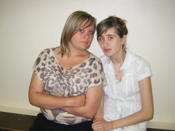 Ma cousine et moi <3