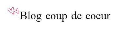 Blog coup de c½ur
