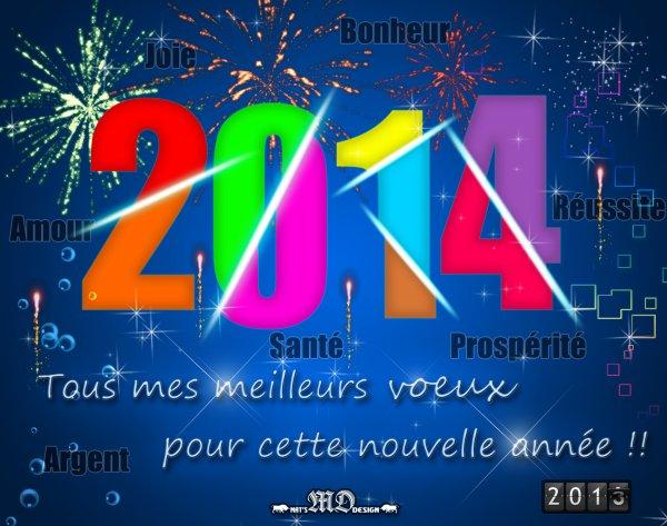 Bonne Année 2014 ;)