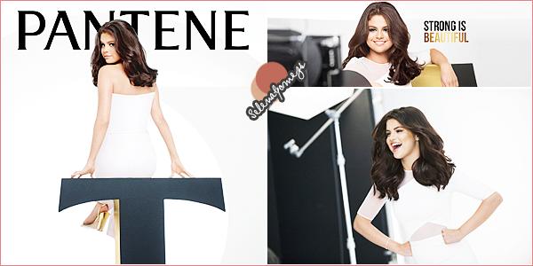 - Nouveau projet- La grande nouvelle est tombée, Selena se lance dans un partenariat avec la marque Pantene ●●Découvrez ci-dessous, des photosbehind the scenes de Selena lors du photoshoot pour la marque, ainsi qu'une vidéo d'introduction -