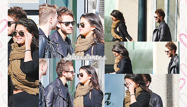'  24.01.2015 - Selena et Zedd sont allés au restaurant, et ensuite sont sortit entre amis au jardin botanic d'Atlanta C'est une Selena toute souriante que nous retrouvons lors de cette journée. Que pensez-vous de Selena et Zedd ? '