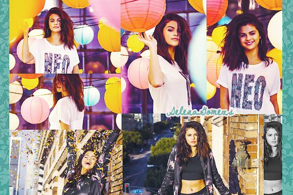 '  Découvrez de nouvelles photos sur photoshoot de Selena pour Adidas NEO pour la collection été Pour ma part j'adore ce shoot, Selena est magnifique et toute souriante, les photos sont très belles, un gros TOP '