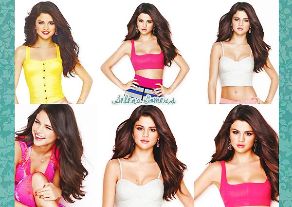'  2012 - (Re)Découvrez un photoshoot de Selena pour le magazine Cosmopolitan  '