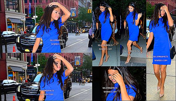 08.Juillet.2014 : Selena est allée au restaurant ABC Kitchen, à New York