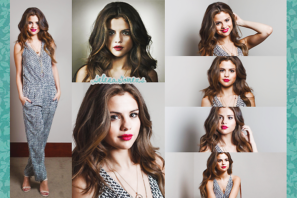 '  2013 - (Re)Découvrez un photoshoot de Selena pour le magazine LeParisien  '