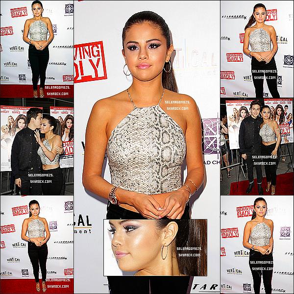 29.Juillet.2014 : Selena était à l'avant-première de Behaving Badly à Los Angeles