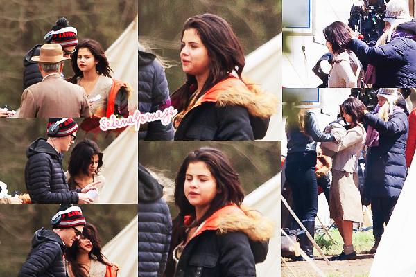 '  27/03/2015 -  Selena était sur le tournage de In Dubious Battle, à Bostwick en Georgie Selena est de nouveaux retournée sur le tournage du film IDB, voici quelques photos du tournage : '
