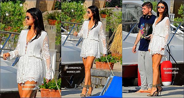 19.Juillet.2014 : Selena était au 8 Day des Global Film & Music Fest à Ischia, en Italie