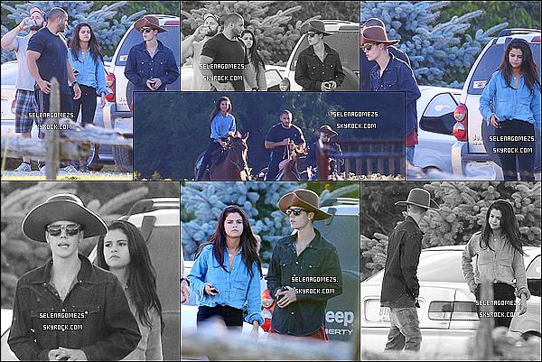 28.08.2014 : Jelena ont fait une balade à cheval, au Canada