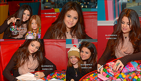 "18.01.2013 : Selly était ""Dessert Party"" donné par UNICEF"