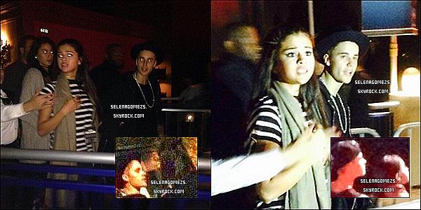20.09.2014 : Jelena ont été vus alors qu'ils se promenaient aux Studios Universal