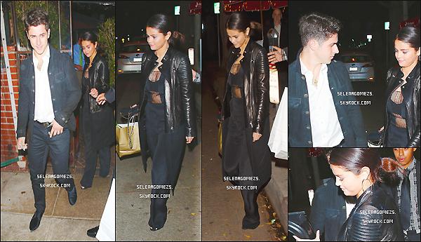 15/11/2014 : Selena et David Henrie sont allées au Il Cielo à Beverly Hills, Californie