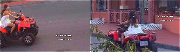 28.09.2014 : Selena a fait du QUAD à Saint Martin