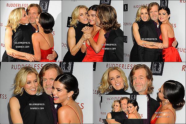 07.10.2014 : Selena était présente à l'avant première du film Rudderless, Los Angeles
