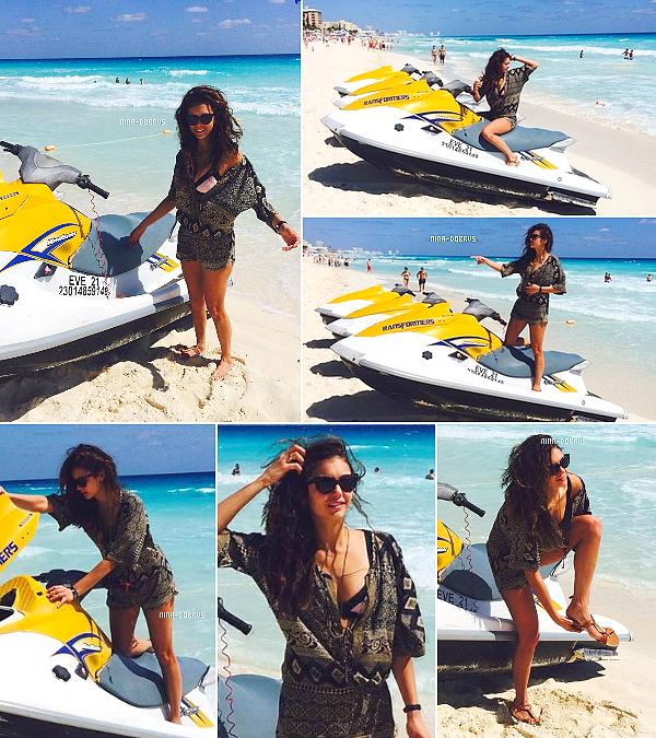 Février/Mars 2014 -  Nina au Mexique + Promotion Vampire Diaries 5x16