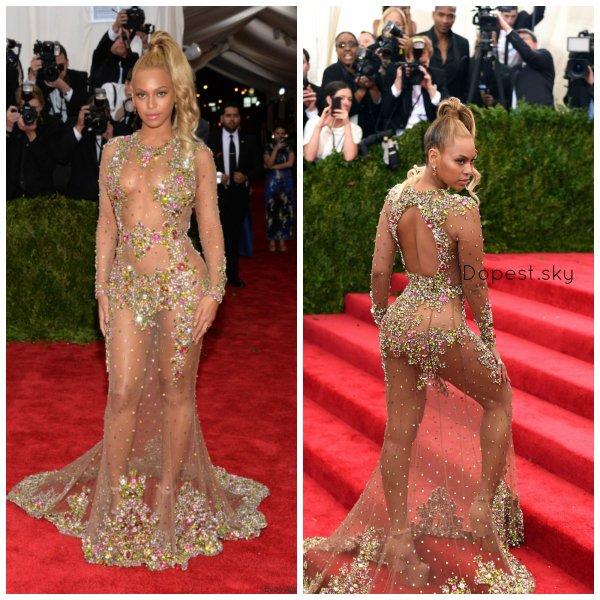 Beyonce au MET gala 2015