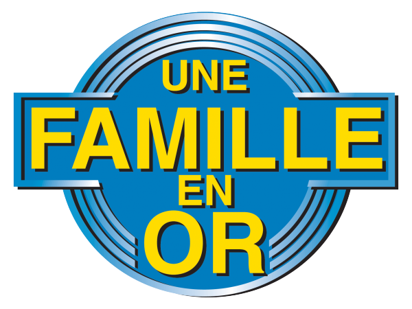 Reproduction du logo Une Famille en or 1993 1998.