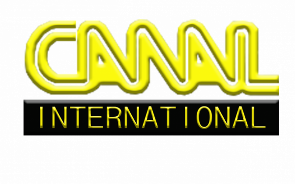 Reproduction logo Canal international 1993/1999.
