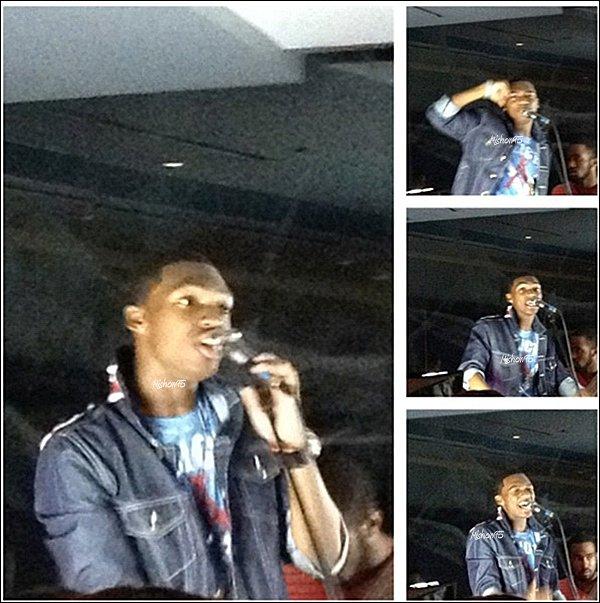 Mishon Perform a l'IMC événement à Atlanta