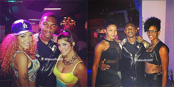 """. 16.05.2013 : Le beaux Mishon a ete aperçu au club """"Mansion Elan"""". ."""