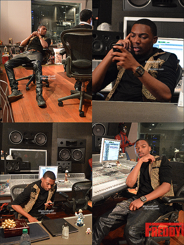 . 2013 : Mishon était Au Studio avec Jermaine Dupri Et Bryan M. Cox a Atlanta. .