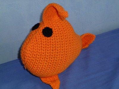 Petit poisson rouge ...