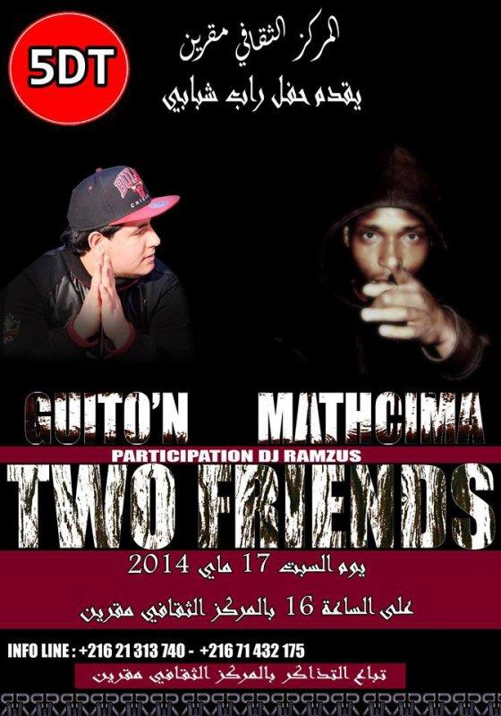 Concert le 17 mai 2014 Mathcima et guito'n